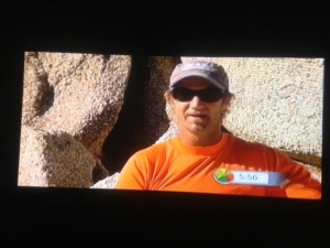Greg Featured On TV And Top Billing